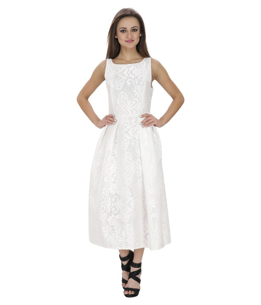 SVT ADA Collections White Net Dresses
