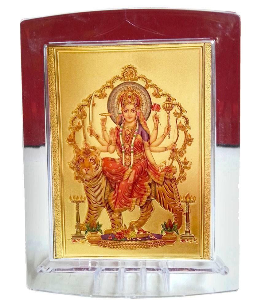 03c840ac467f Gold Art 4 U Durga Maa Painting  Buy Gold Art 4 U Durga Maa Painting at  Best Price in India on Snapdeal