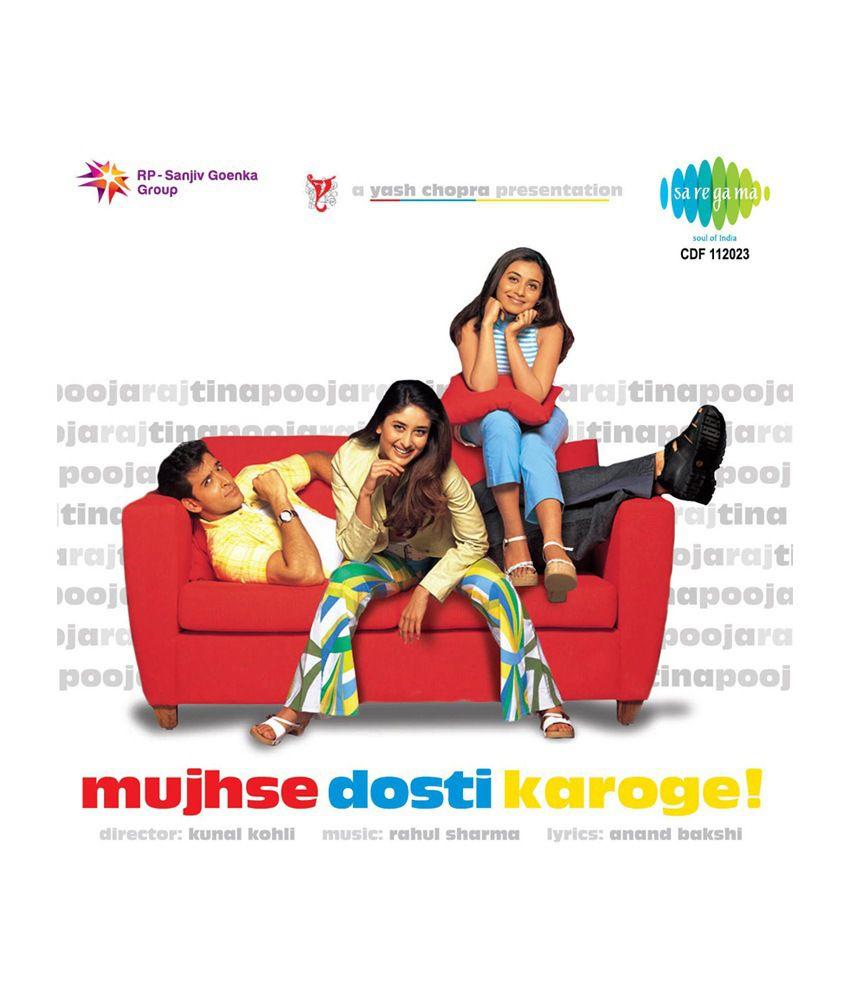 Mujhse Dosti Karoge Audio CD Hindi