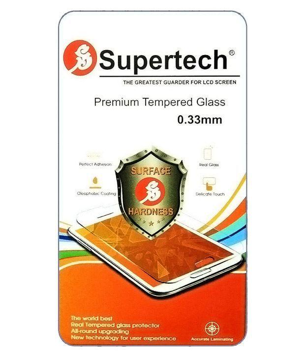 Asus Zenfone 5 (A500CG) Tempered Glass Screen Guard by SUPERTECH