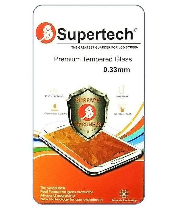 Micromax Canvas Xpress E313 Tempered Glass Screen Guard by SUPERTECH