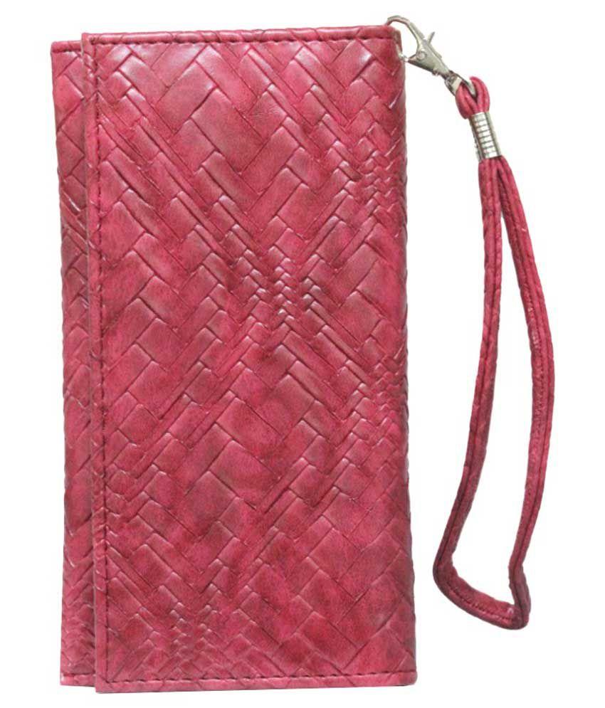 Jo Jo Flip Cover Case For Elephone P6i -red