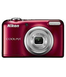 Nikon Coolpix A10 16.1MP Digital Camera - Red