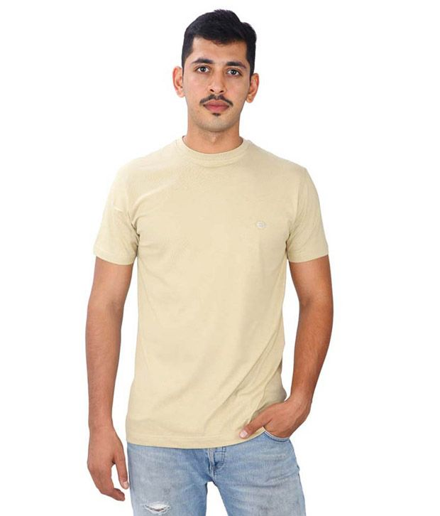 Athlete Beige T Shirts