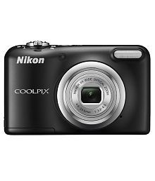 Nikon Coolpix A10 16.1MP Digital Camera - Black