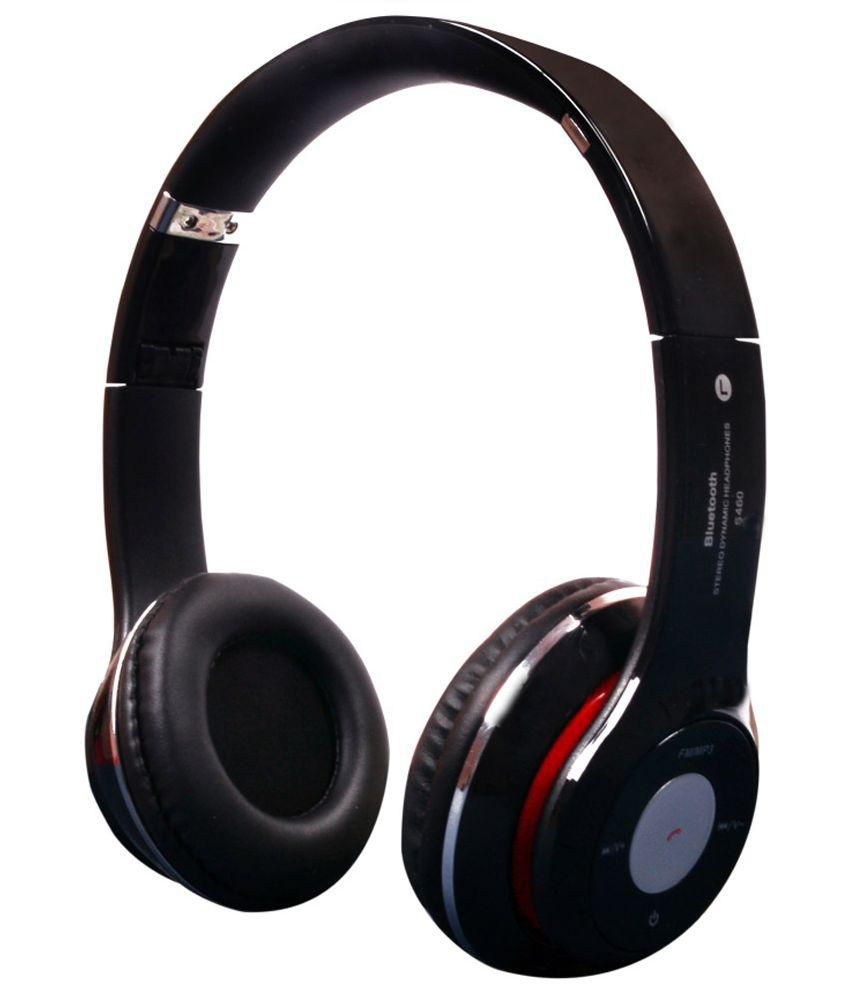 jmd s460 wireless bluetooth over the ear headphone black. Black Bedroom Furniture Sets. Home Design Ideas