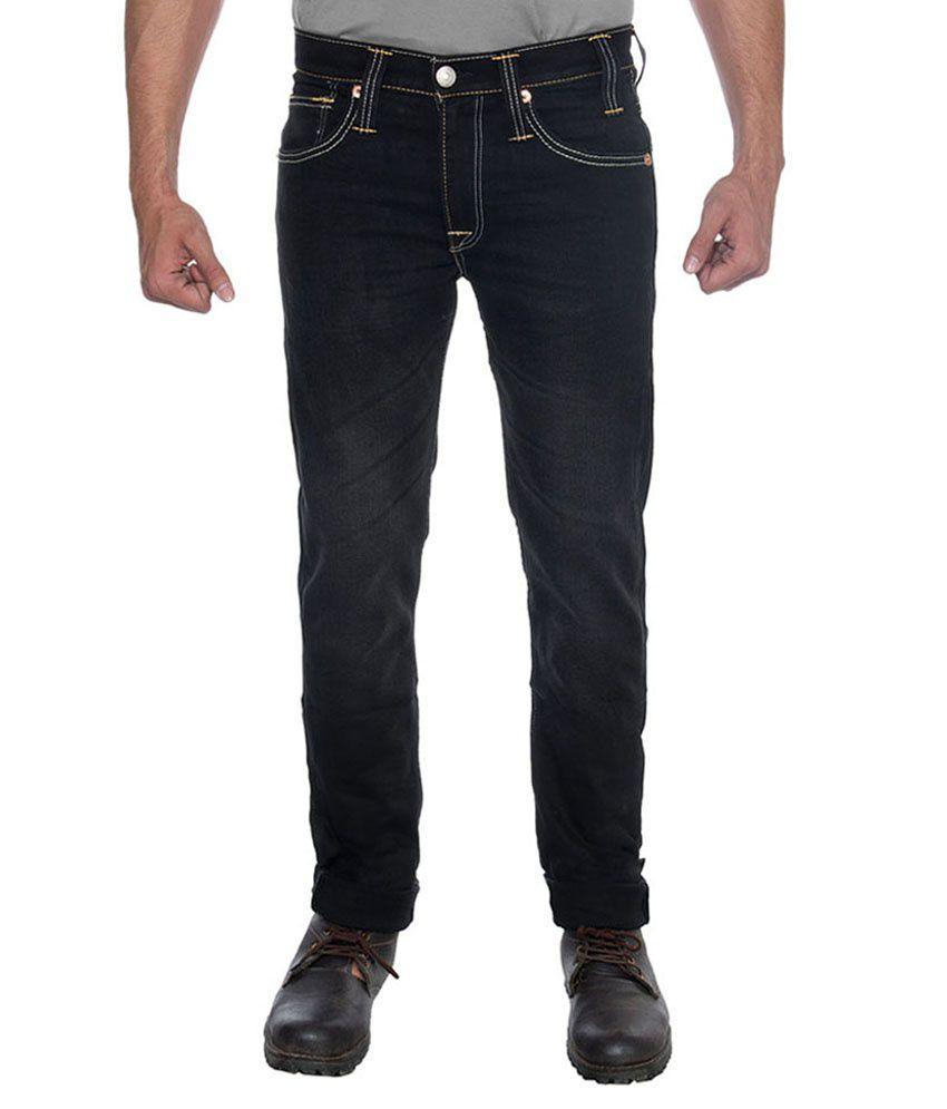 Levis Men Black Stretchable Jeans 510