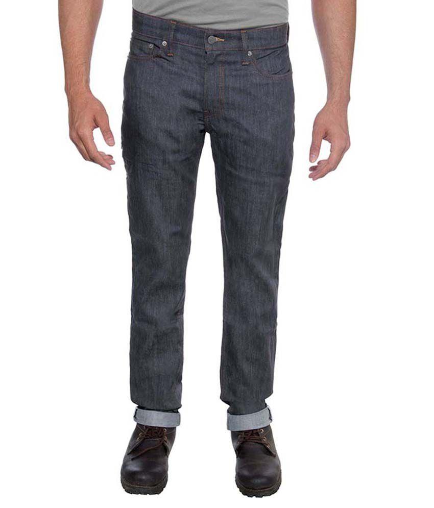 Levis Men Commuter Grey Basic Jeans 511