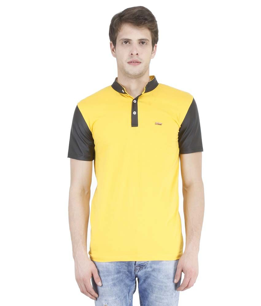 New Fashion Yellow T Shirts