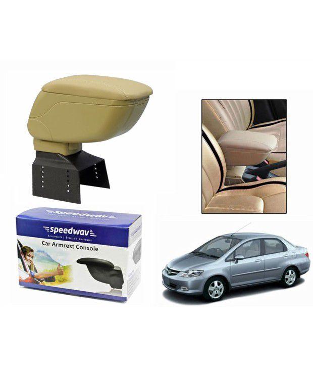 Speedwav Car Armrest Console Beige Color Honda City Zx Buy