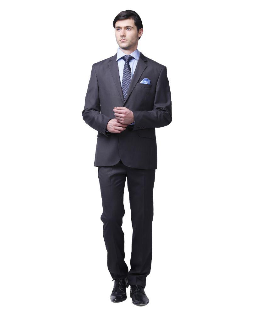 Brahaan Blue Tag Grey Formal Suits NOS