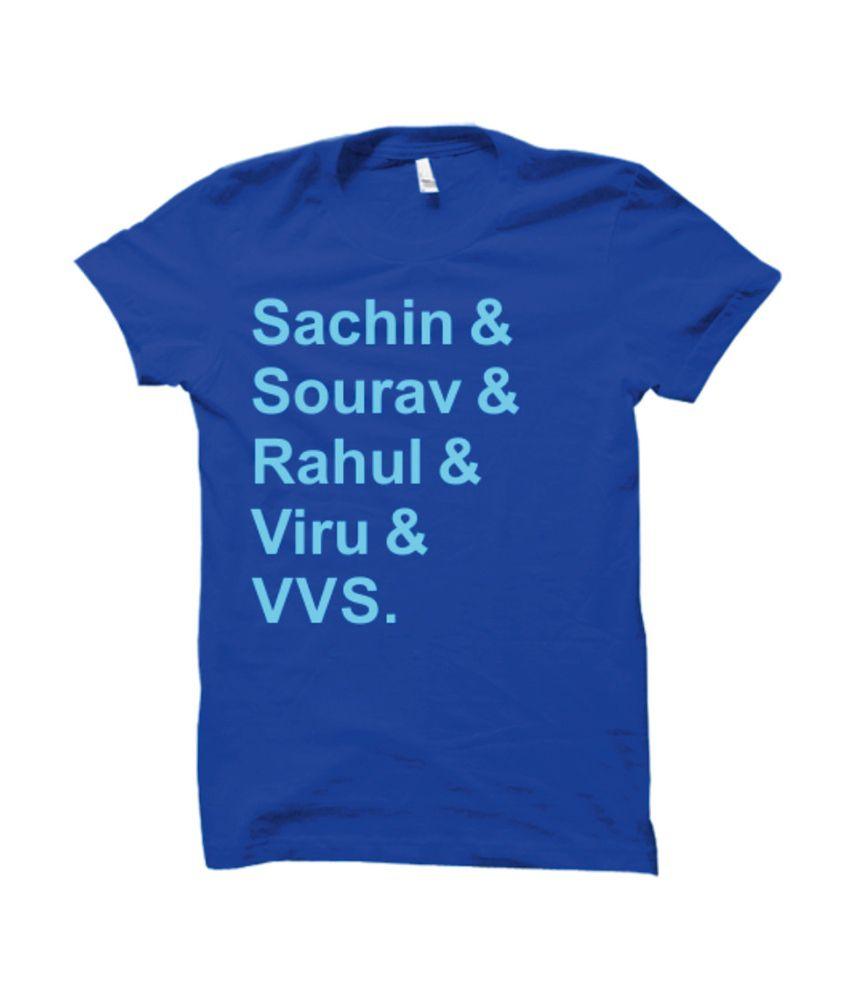 Funatic Sports Funcricketlegends Blue T-Shirt