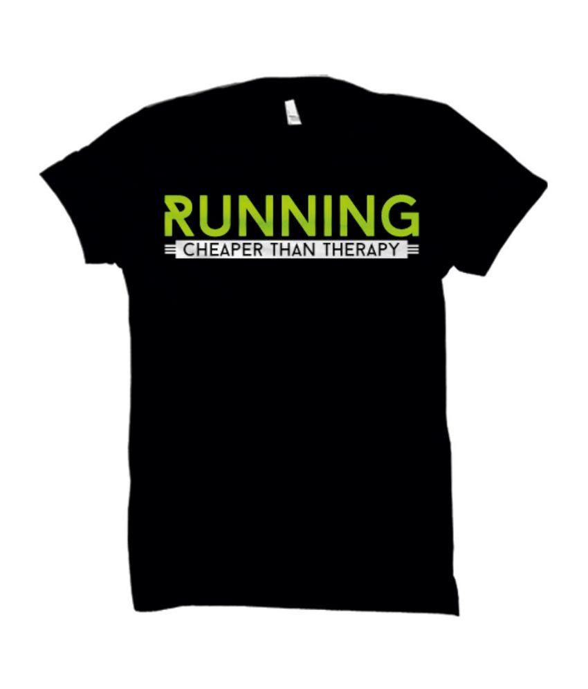 Funatic Sports Funrunninggreen Black T-Shirt