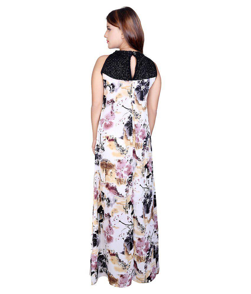 M s maxi dresses sleeves