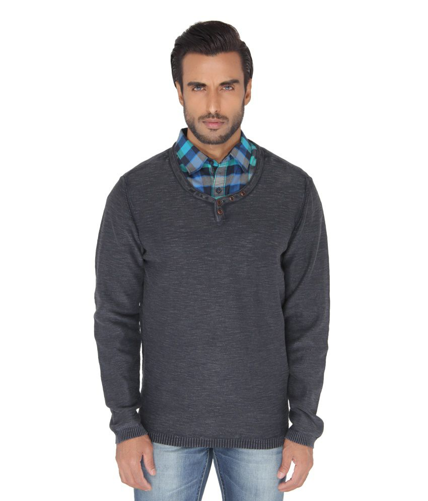 Jadeblue Grey Round T Shirts