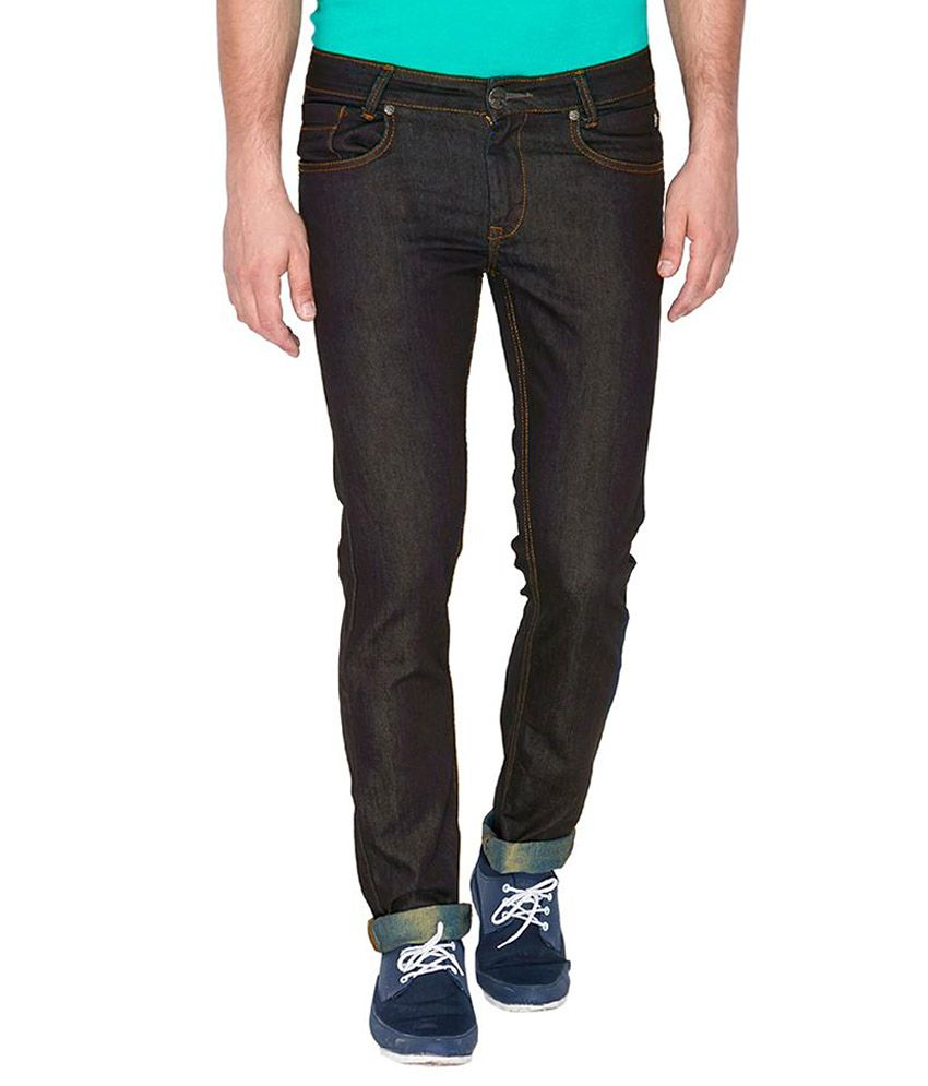 Mufti Dark Navy Slim Fit Jeans