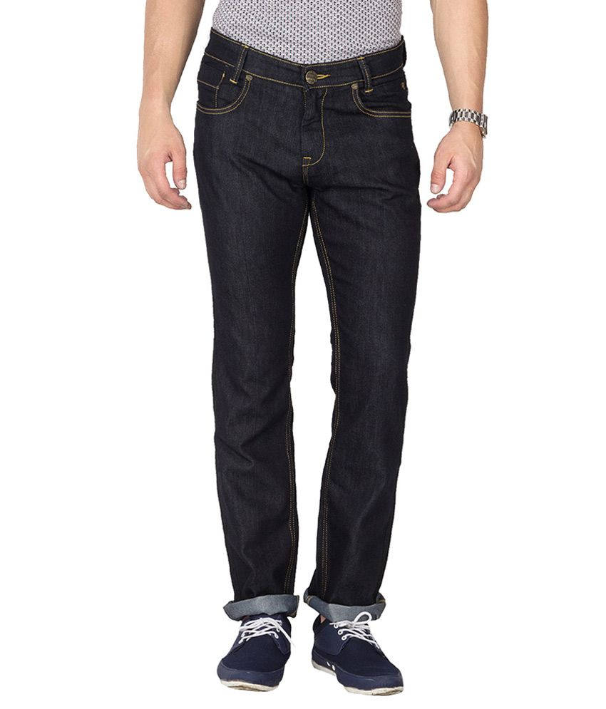 Mufti Navy Regular Fit Jeans