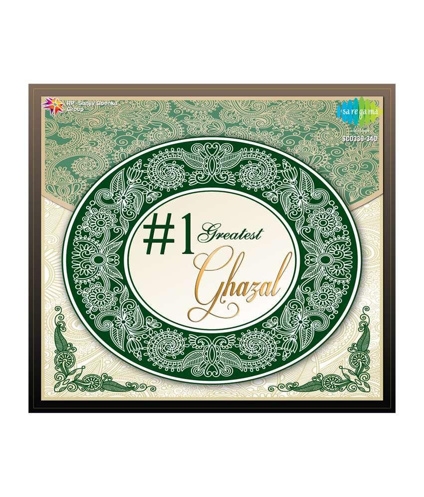 1 Greatest Ghazals Audio CD Hindi