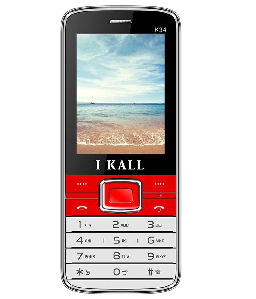 I Kall K 34 Below 256 MB Red