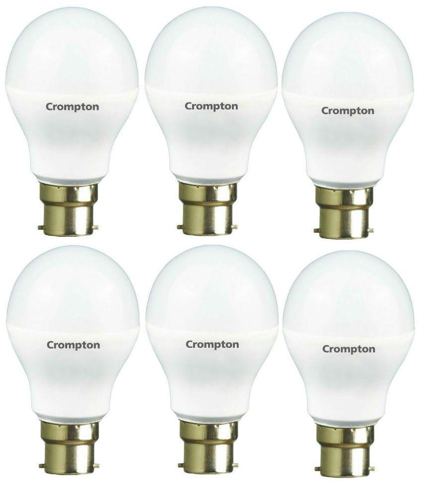 Crompton Greaves 7W LED Bulb   Pack of 6
