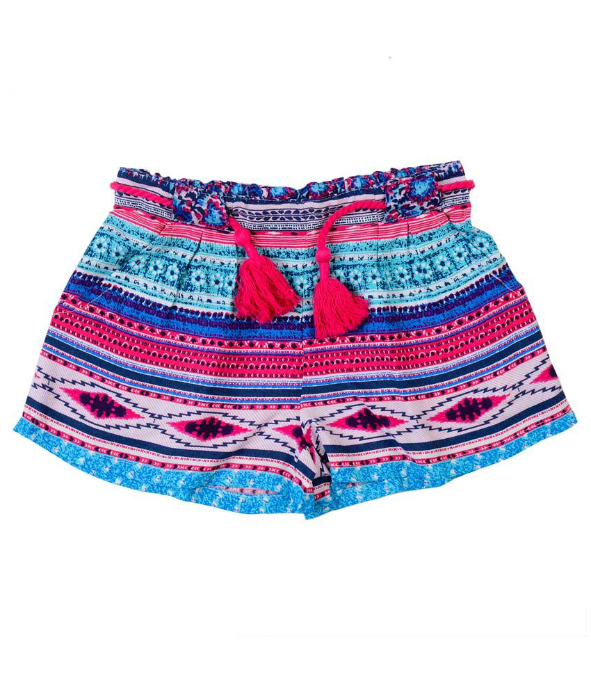 Nauti Nati Multicolored Printed Shorts