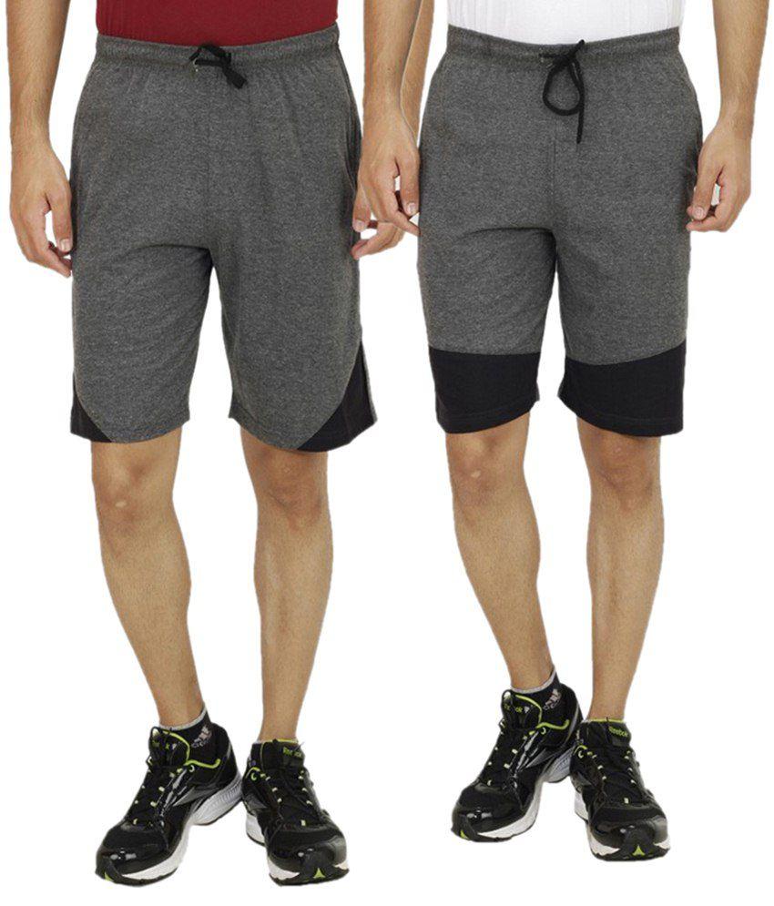 Candy House Multi Shorts Set Of 2