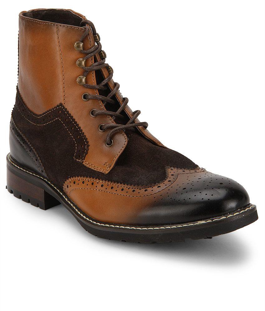 Steve Madden Occupie Brown Boots