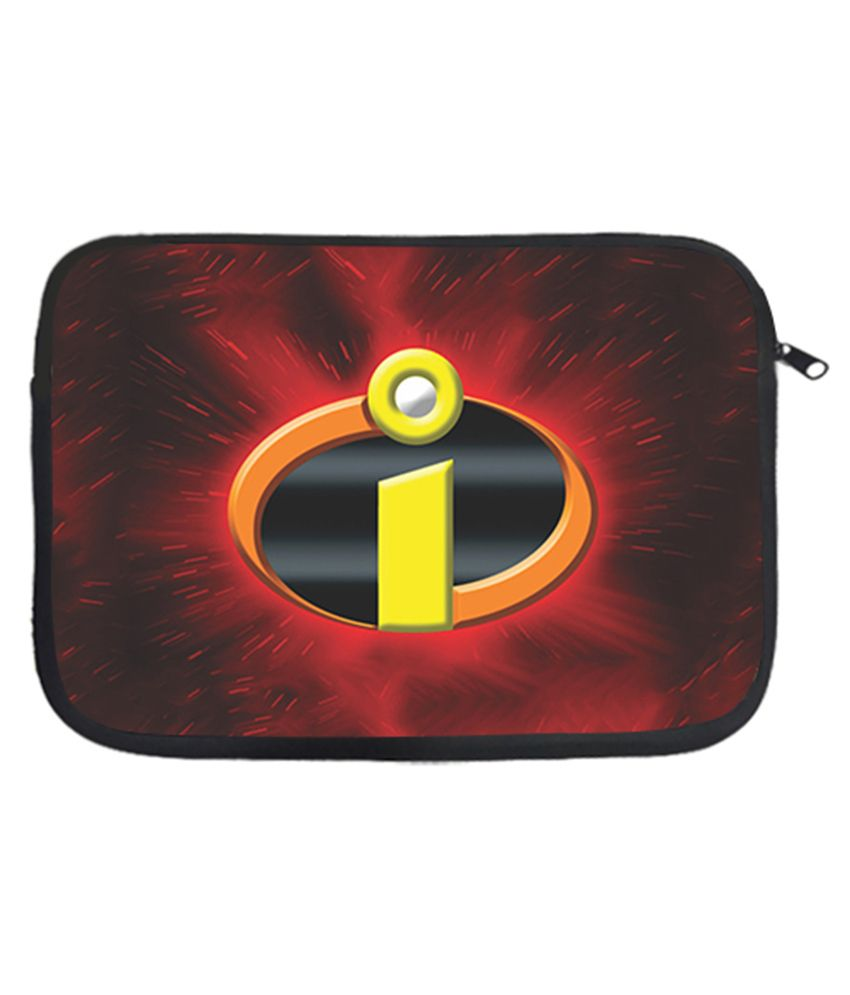 Design Worlds Polyester Sign 15 Inch Laptop Sleeve - Multicolor