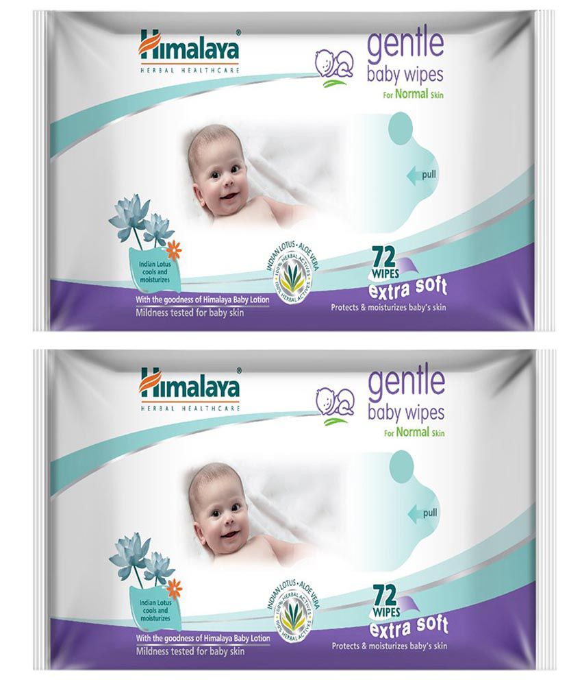 Himalaya Baby Wipes - Set of 2