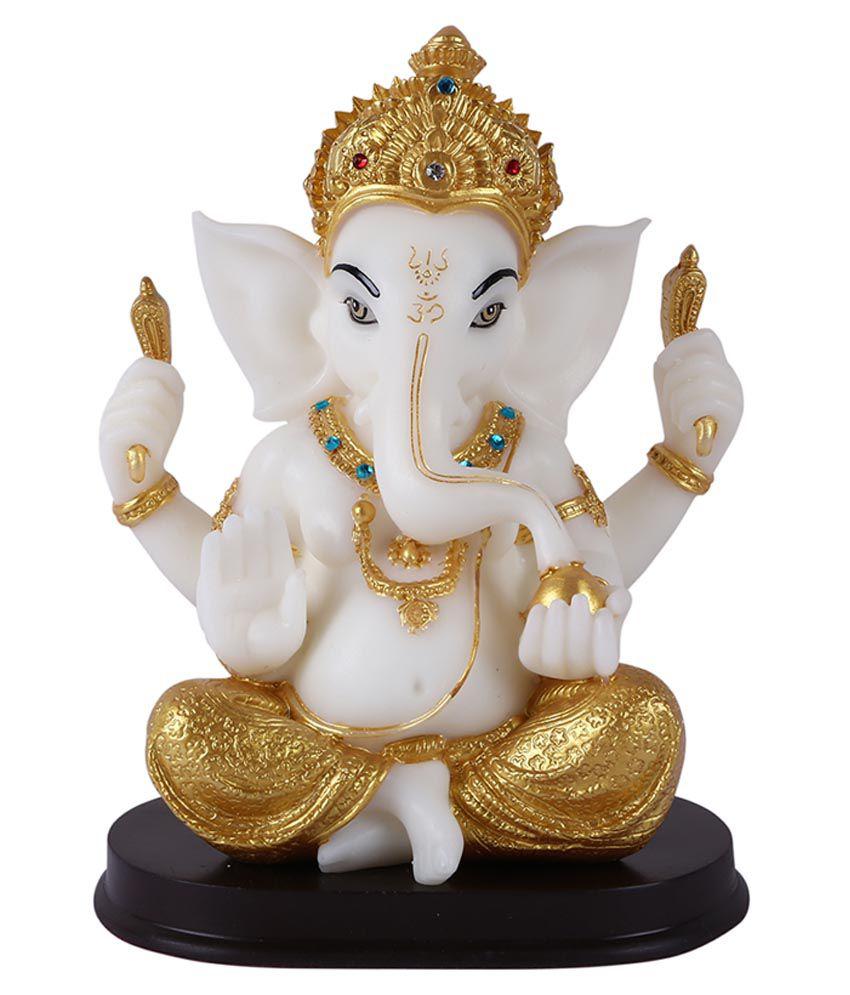 Giftadia Marble Ganesh Idol Buy Giftadia Marble Ganesh Idol At