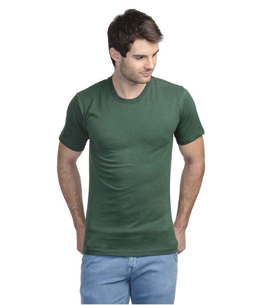 Tom Joe Green Round T Shirts
