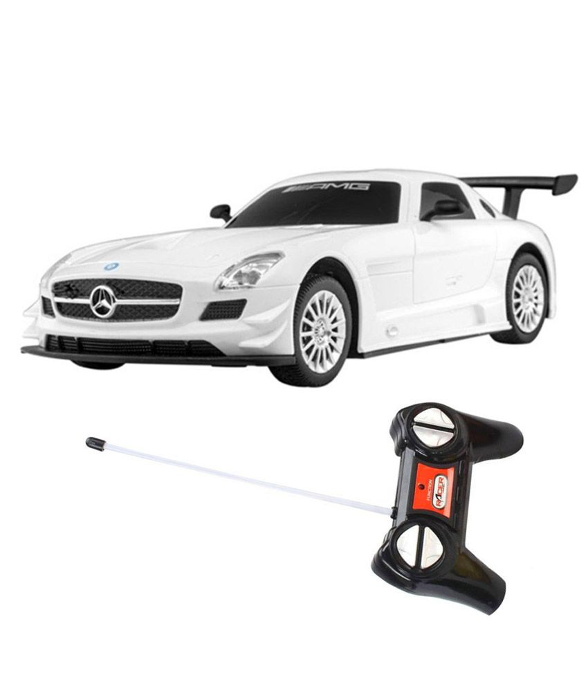 Fantasy India Fantasy India White Remote Control Car