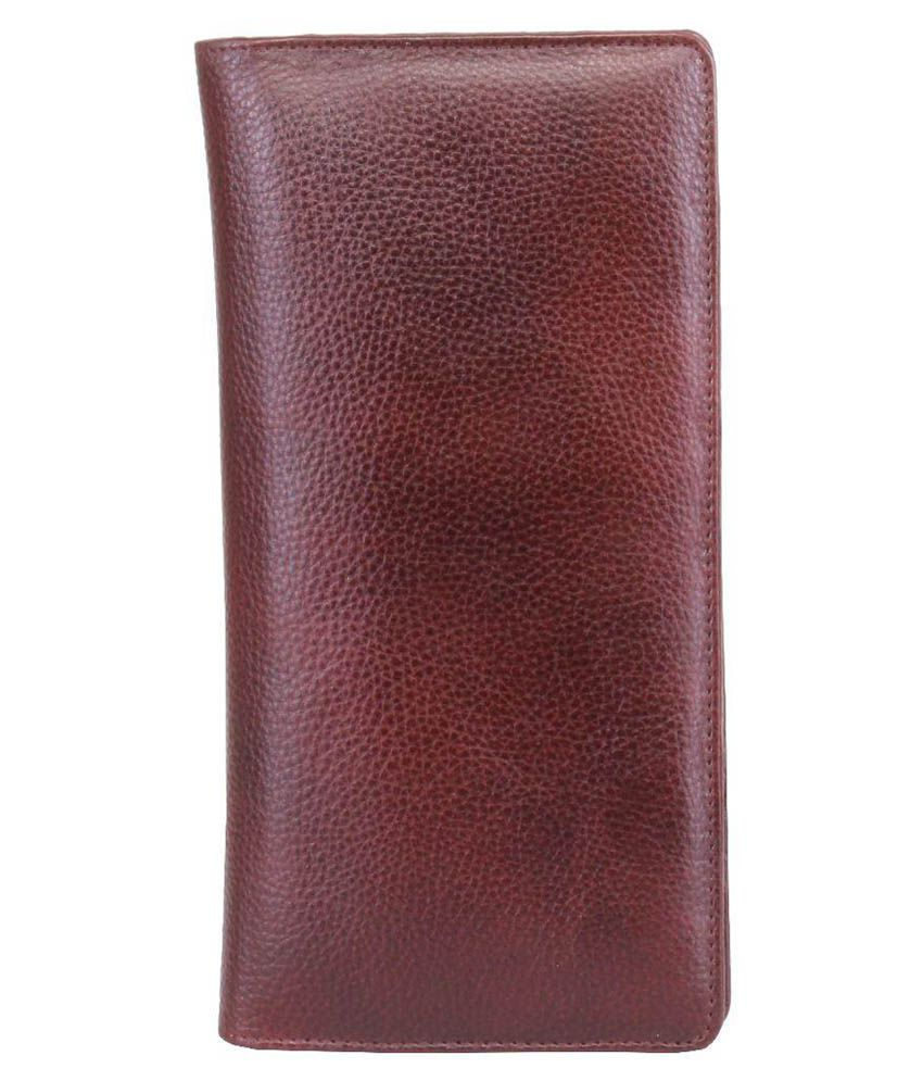 Walletsnbags Brown Leather Passport Holder