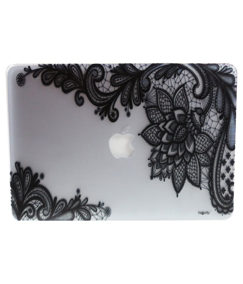 Heartly Printed Laptop Sleeves For Apple MacBook Pro 13 Inch - Multicolour