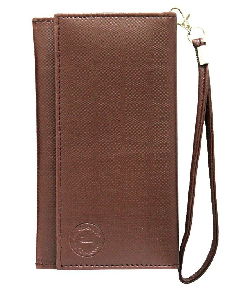 Jo Jo Pouch Cover For HTC One M8 - Brown