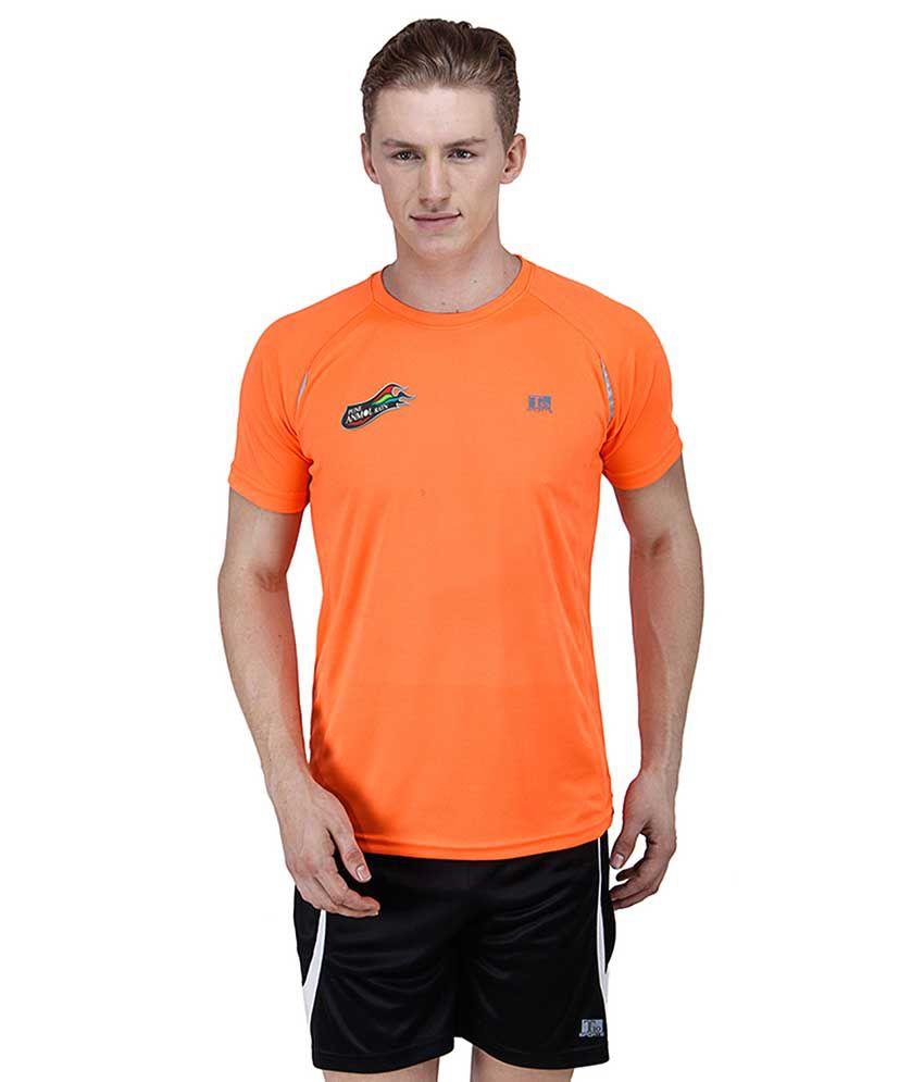 T10 Sports Orange T Shirts