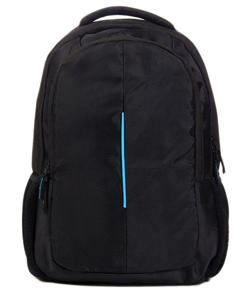 Best Deal Black Polyester Laptop Carrying Backpack
