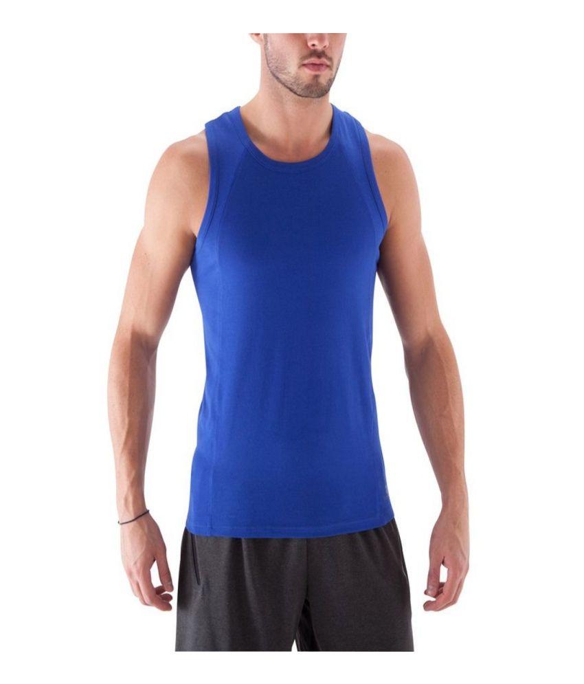 DOMYOS Bb Dry Skin Co Men's Strength Training Tank By Decathlon