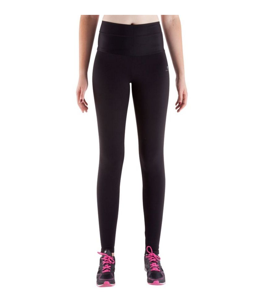 8392bfbe0890a DOMYOS Bb Slim Shape Women's Strength-Training Cropped Leggings By Decathlon  ...