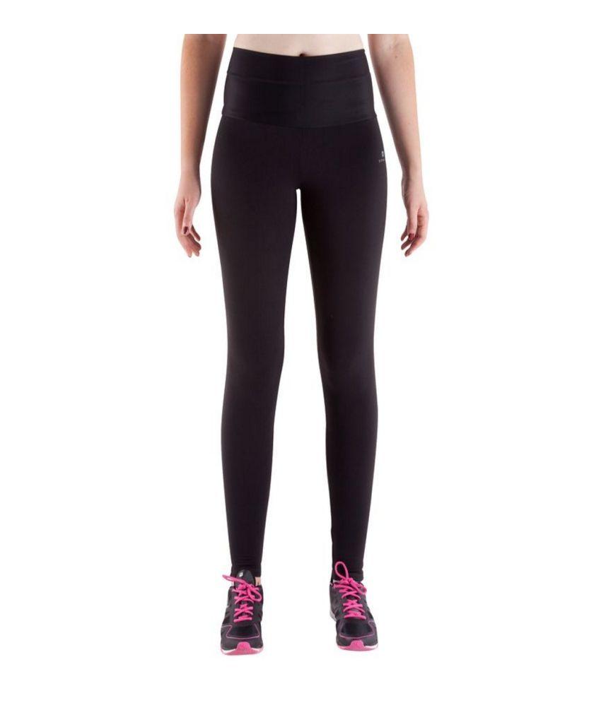 DOMYOS Bb Slim Shape Women's Strength-Training Cropped Leggings By Decathlon
