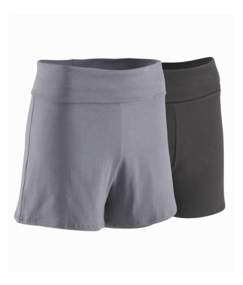 DOMYOS Bio Women's Yoga Shorts By Decathlon