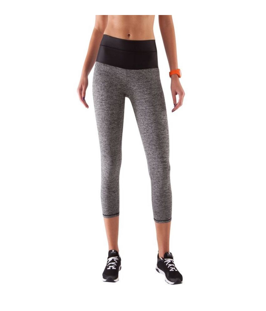 DOMYOS Bt 7/8 Chine Shape Women's Strength Training Leggings By Decathlon