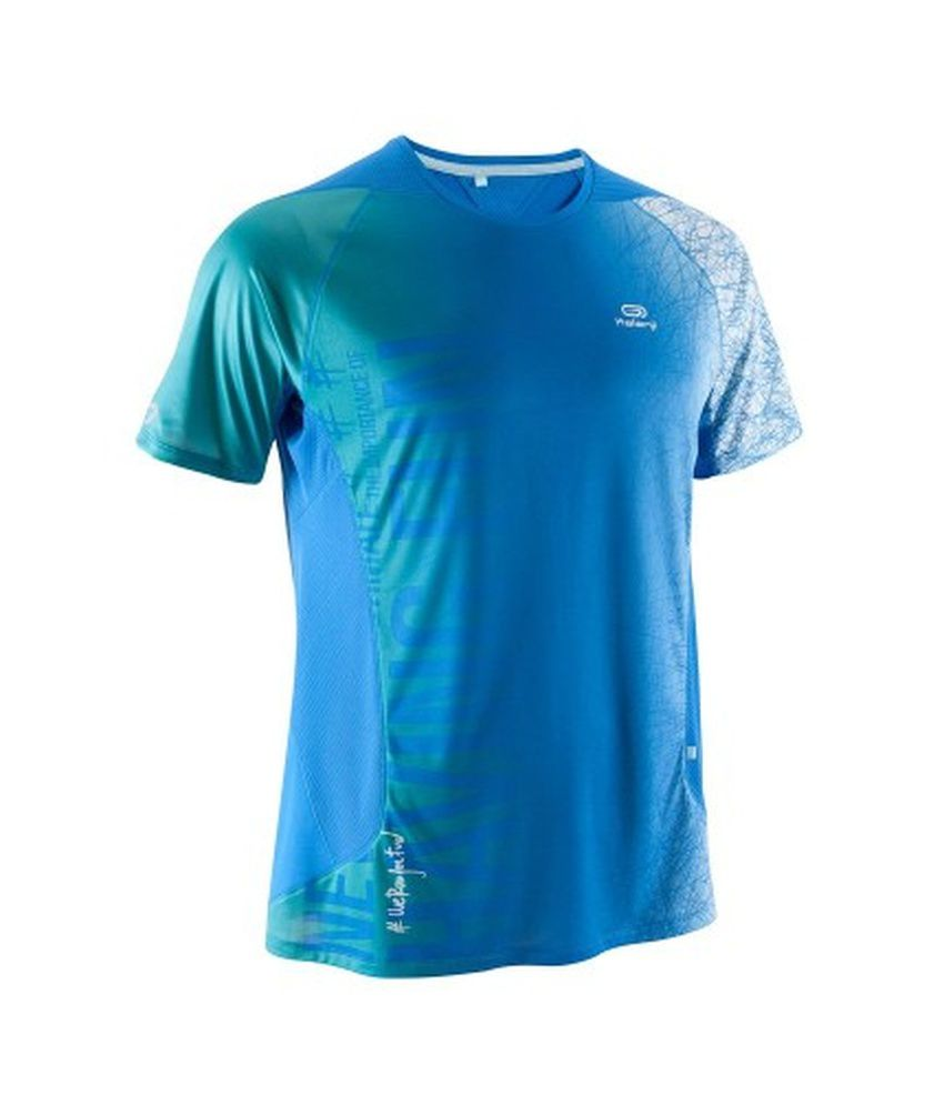 KALENJI Elio Men Running T Shirt Print By Decathlon