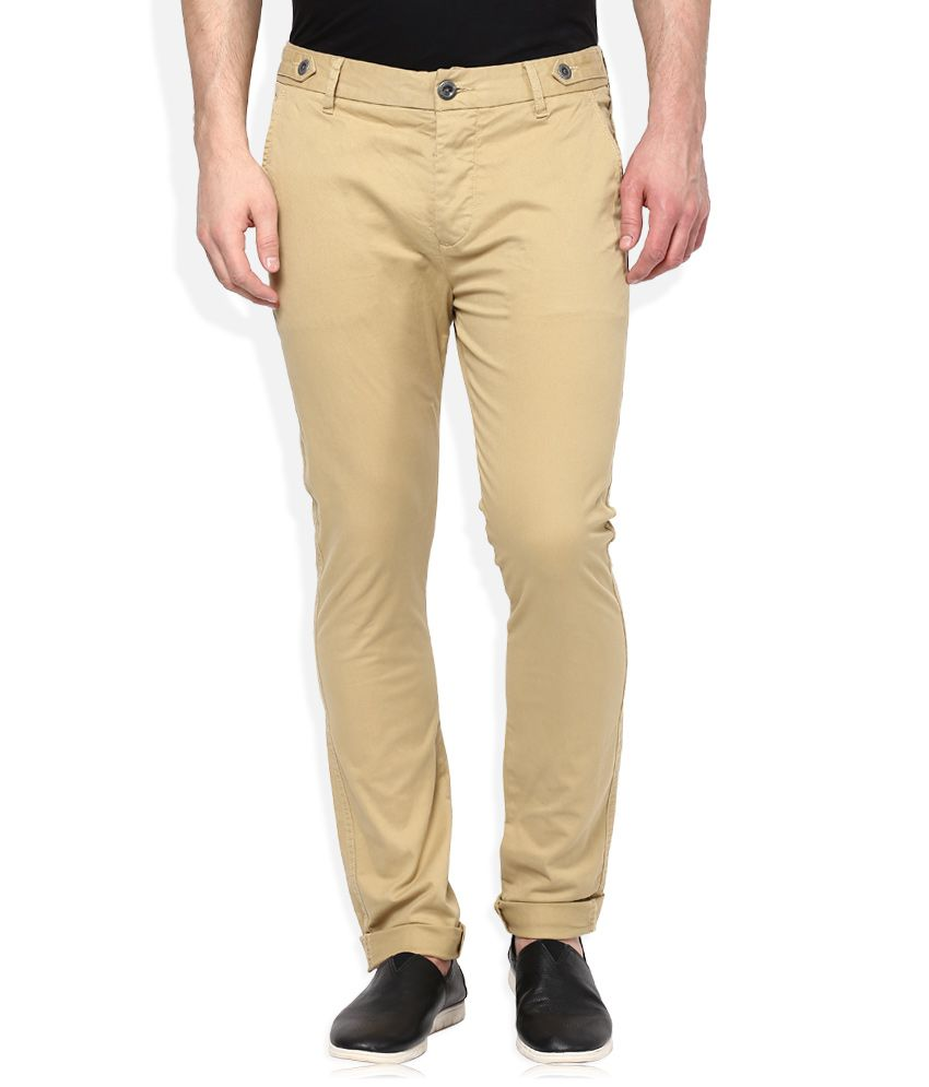 Breakbounce Khaki Slim Fit Chinos