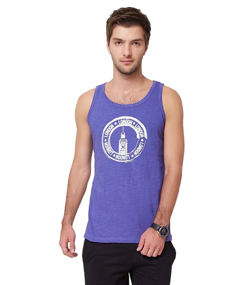 Elaborado Purple Round T Shirts