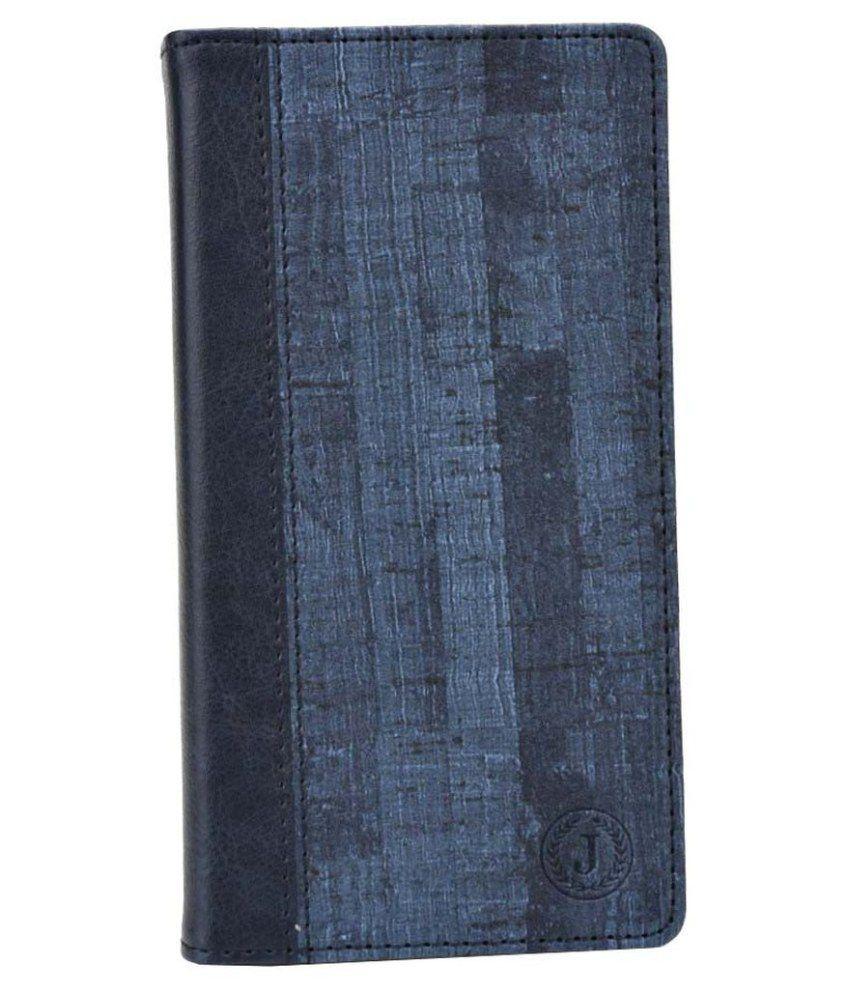 Jo Jo Flip Cover for Lenovo Vibe K5 Plus - Blue