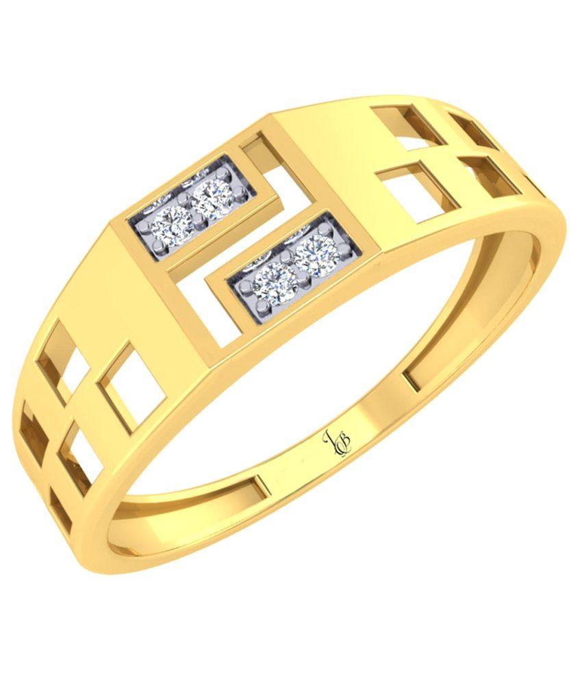 Jewellery Bazaar 18k Gold Diamond Ring