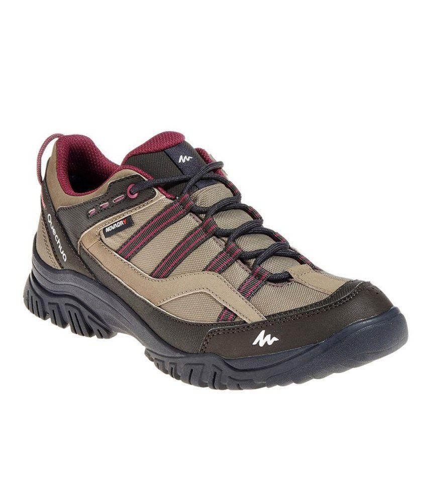 QUECHUA Arpenaz 100 Waterproof Women #039;s Hiking Shoes ...