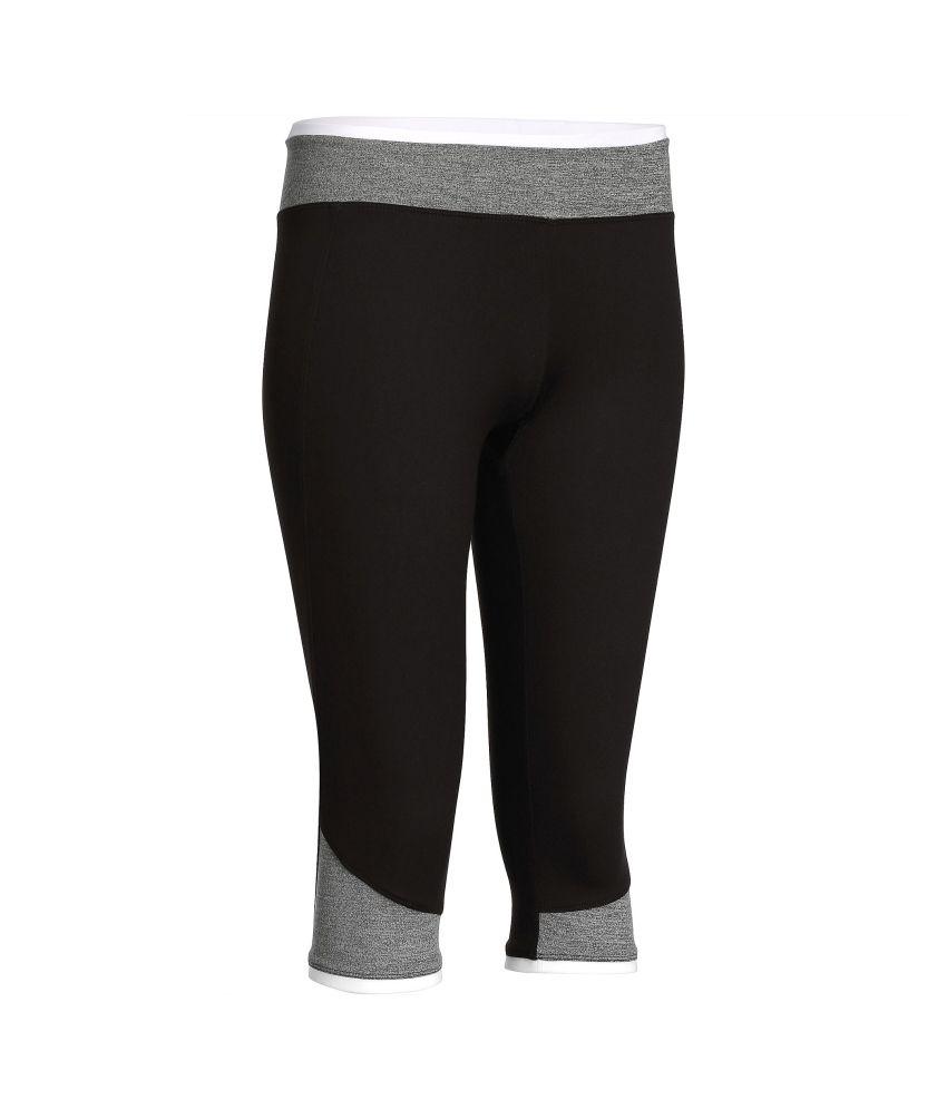 DOMYOS Breathe Women's Cardio Cropped Leggings By Decathlon