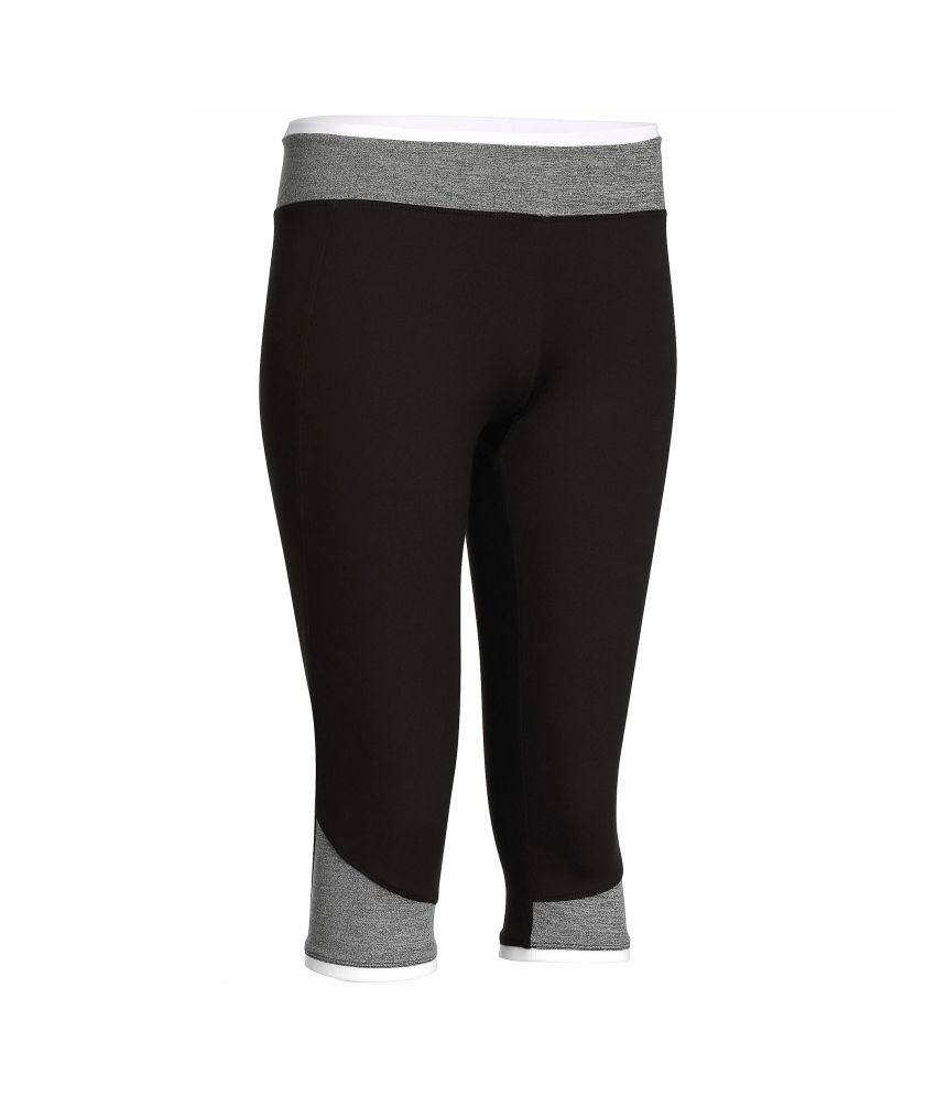 DOMYOS Breathe Women's Cardio Cropped Leggings By Decathlon